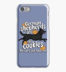 German Shepherd cookies! iPhone Case/Skin