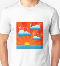 clean sustainable wind energy Unisex T-Shirt