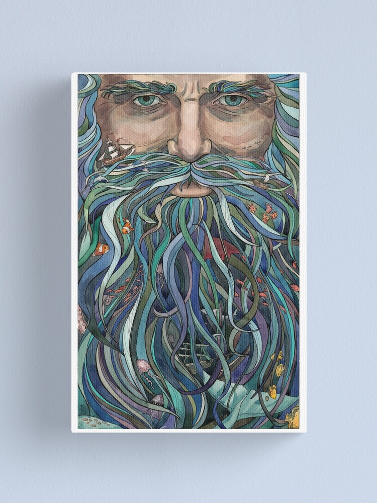 Alternate view of Old man Ocean Canvas Print