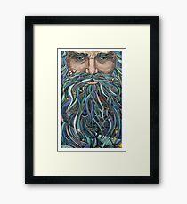Old man Ocean Framed Print