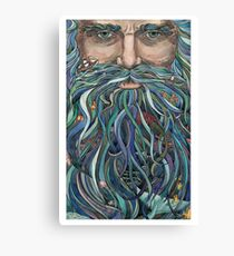 Old man Ocean Canvas Print