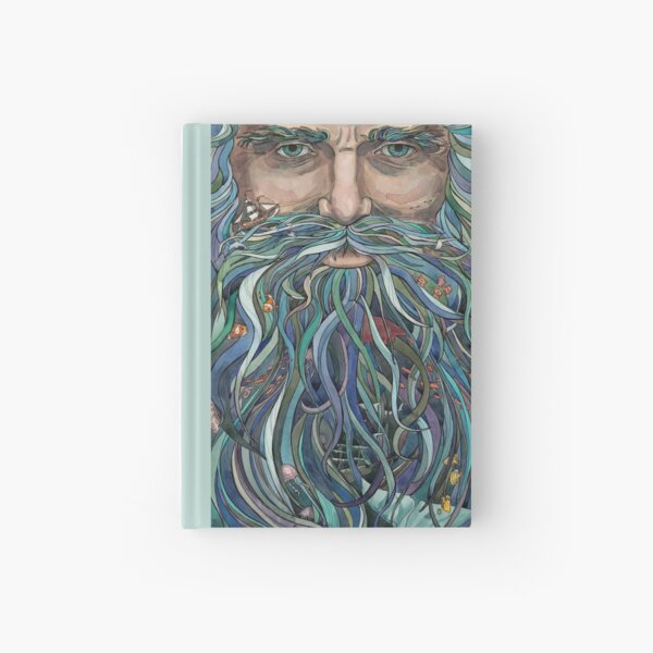 Old man Ocean Hardcover Journal