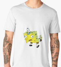 High Quality Spongebob Meme Men's Premium T-Shirt