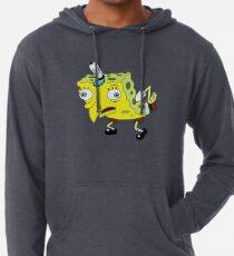 Sudadera con capucha ligera Meme de Bob Esponja de alta calidad