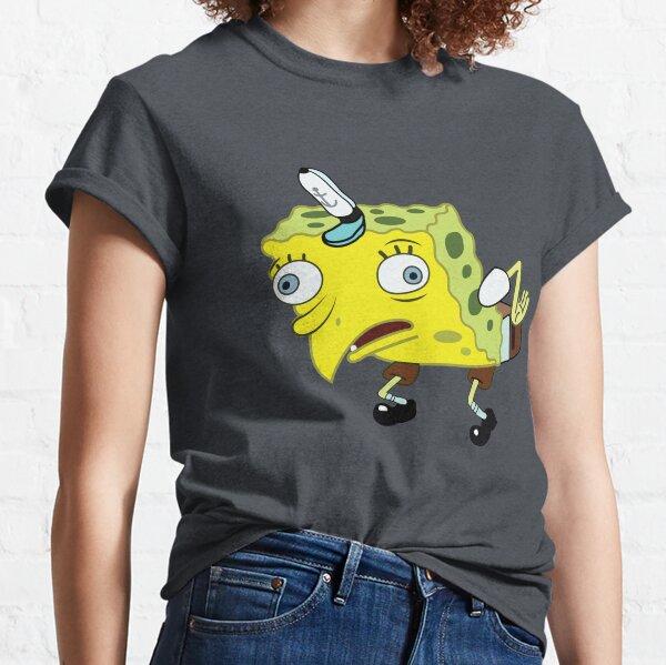 High Quality Spongebob Meme Classic T-Shirt
