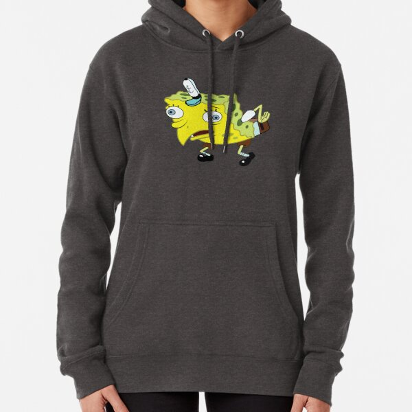 High Quality Spongebob Meme Pullover Hoodie