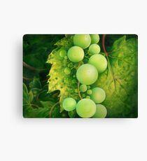 """""""The Grapes"""" Canvas Print"""