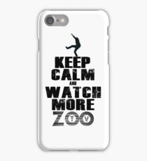 u2 keep calm ZooTv iPhone Case/Skin