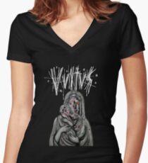 """Vvltvs """"Neerval"""" shirt Women's Fitted V-Neck T-Shirt"""