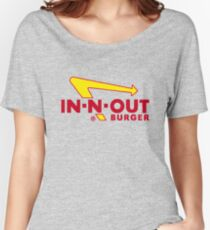 In n Out - Burger Women's Relaxed Fit T-Shirt