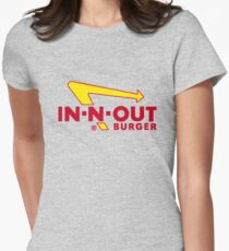 In n Out - Burger Womens Fitted T-Shirt
