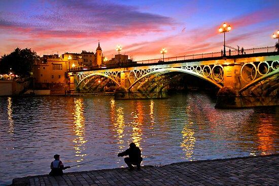Sevilla Fishing by Skip Hunt