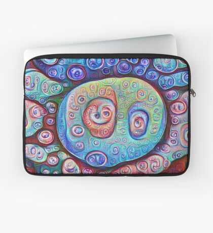 #DeepDream Ice 5x5K v1450338773 Laptop Sleeve