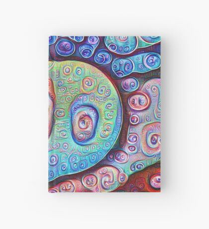 #DeepDream Ice 5x5K v1450338773 Hardcover Journal