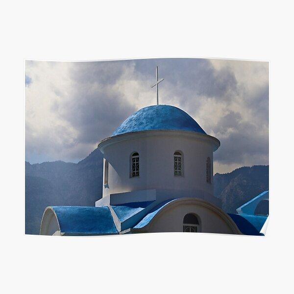 GREEK ROADSIDE CHAPEL..! Poster