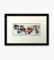 Fractal Photographs Framed Print