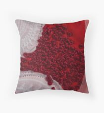 Rosso Throw Pillow