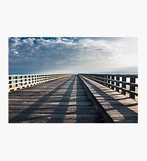 Infinite Bridge Photographic Print