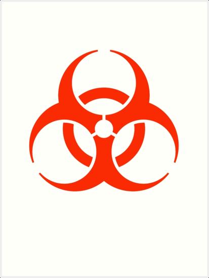 """""""Bio Hazard, DANGER, WARNING, Symbol, Biological hazard ..."""