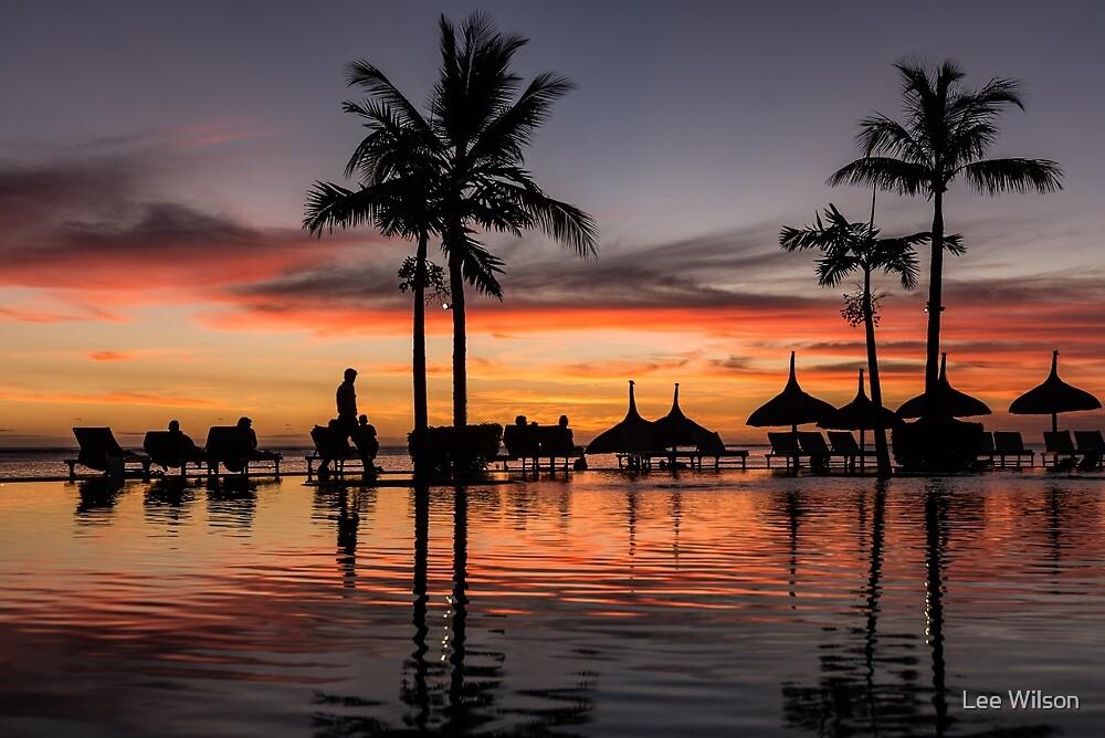 Mauritian Sunset by Lee Wilson
