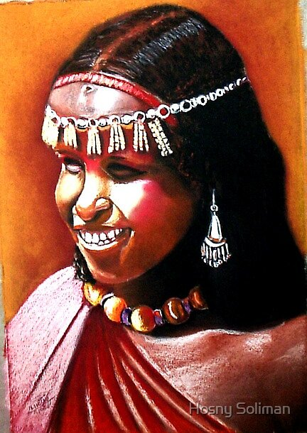 AFRICAN BEAUTY3 by Hosny Soliman