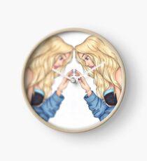 Mirror mirror Clock