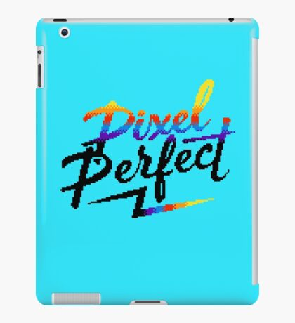 Pixel Perfect iPad Case/Skin