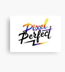 Pixel Perfect Canvas Print
