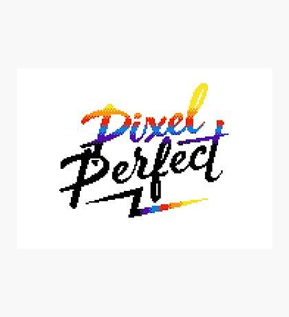 Pixel Perfect Photographic Print