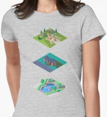 Three Centennial Projects #2 Women's Fitted T-Shirt