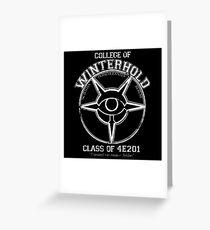 Winterhold College Greeting Card