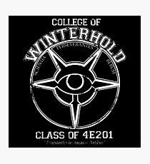 Winterhold College Photographic Print