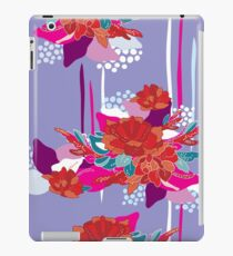 Hand drawn floral seamless pattern inspired by Asia and Japan  iPad Case/Skin