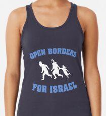 Offene Grenzen für Israel Tanktop für Frauen
