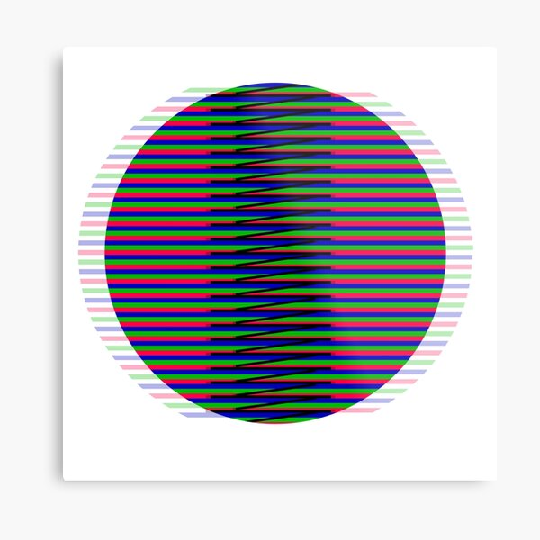 Kinetic Circle Lámina metálica