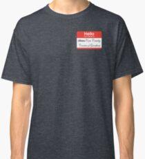 Hello badge (Cora) Classic T-Shirt