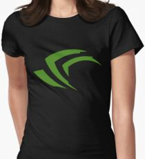 nvidia geforce experience Womens Fitted T-Shirt