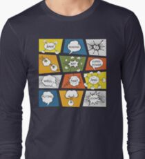 Reading Is My Super Power Well That And Flying for Comic Book & Graphic Novel Fans Long Sleeve T-Shirt