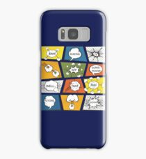 Reading Is My Super Power Well That And Flying for Comic Book & Graphic Novel Fans Samsung Galaxy Case/Skin