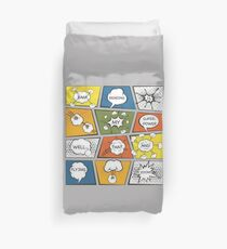 Reading Is My Super Power Well That And Flying for Comic Book & Graphic Novel Fans Duvet Cover