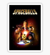 Spaceballs - Reworked Poster Sticker