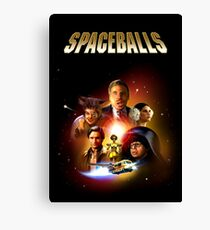 Spaceballs - Reworked Poster Canvas Print