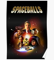 Spaceballs - Reworked Poster Poster