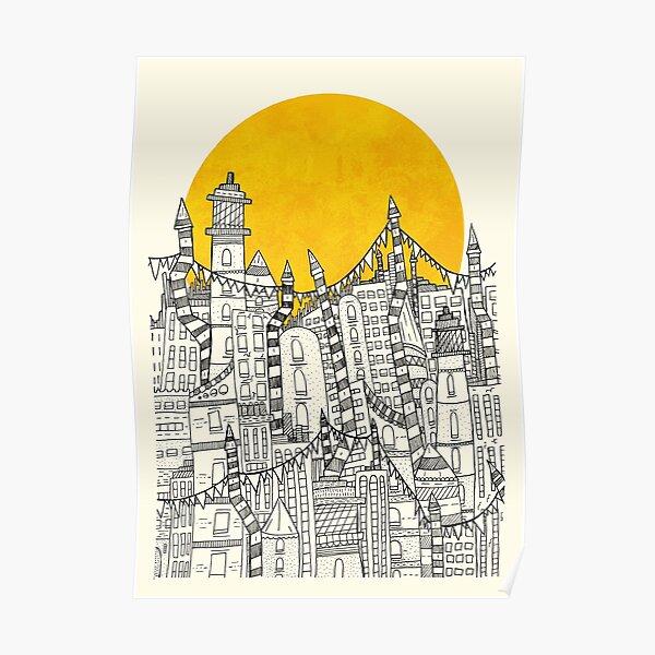 Big Sun Small City Poster
