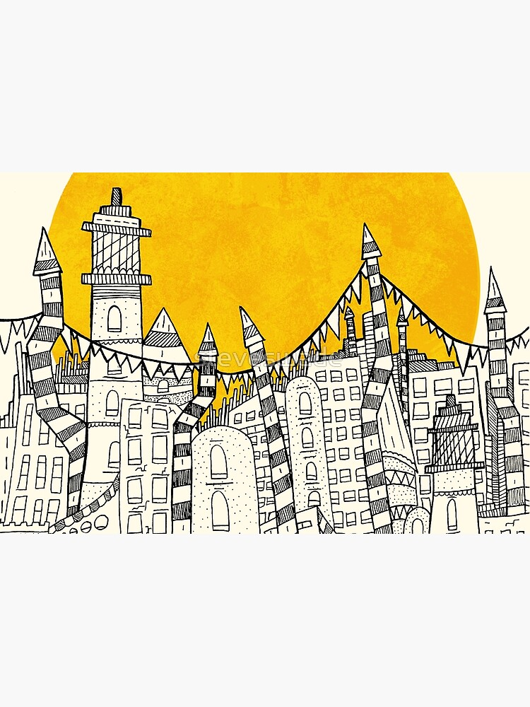 Big Sun Small City by steveswade
