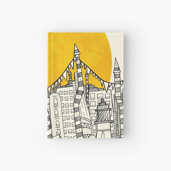 Big Sun Small City Hardcover Journal