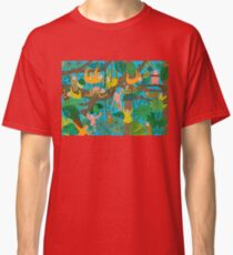 Happy Sloths Jungle  Classic T-Shirt