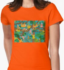 Happy Sloths Jungle  T-Shirt