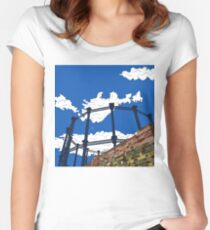 London Regent's Canal Gas Tower Women's Fitted Scoop T-Shirt