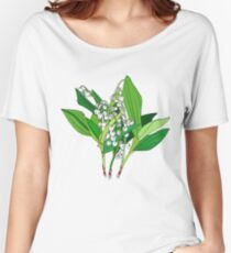 Lilly of the Valley Women's Relaxed Fit T-Shirt